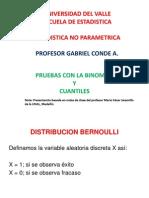 Clase 2- No Parametrica - Pruebas Con La Binomial
