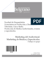 3550-Marketing Del Audiovisual - Trabajo en Equipo - Lanuque