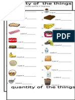 Quantity of the Things