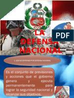 3.- Defensa Nacional