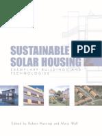 Sustainable Solar Housing - (Vol 1) -Mantesh