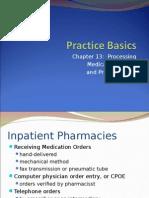 Processing Prescription Orders