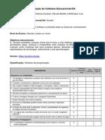 Formulario de Avaliação de Software Educativo