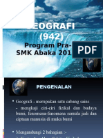 Taklimat Geo Modular