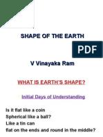 Proof of Earth's Shape