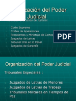 Organización Del Poder Judicial Ayudantia