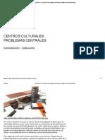 Centros Culturales_ Problemas Centrales _ Pamela López Rodríguez