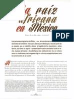 1. La Raíz Africana en México