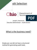 Ohio DGS 2015 Presentation - Leveraging Big Data and Meaningful Analytics - Joseph Hammond