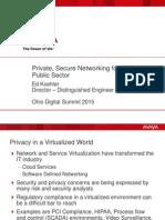 Ohio DGS 2015 Presentation - Future of Networks - Ed Koehler