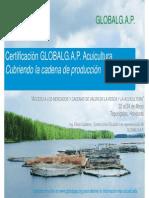 Certificación GlobalGAP Acuicultura, Cubriendo La Cadena de Producción - Efraín Calderón, Ecuador