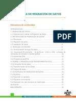 TECNICAS DE MIGRACION DE DATOS