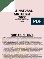 Gas Natural Sintetico. Presentación 2013