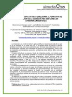 BACTERIAS ACIDO LÁCTICAS (BAL) COMO ALTERNATIVA DE CONSERVACIÓN DE LA CARNE DE RES EMPACADA EN ATMÓSFERA MODIFICADA