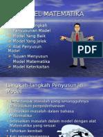3. Model Matematika