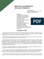 Las Herejias de Juan Pablo II