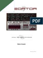 RP Predator Manual French