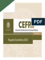 Paquete Económico 2015