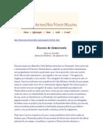 Olavo de Carvalho_Artigos_2011_Comentários Da Semana