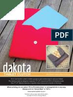 Dakota Tablet Clutch