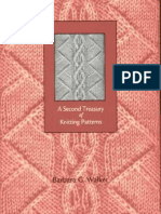 (Libri ) (Knitting) a Second Treasury of Knitting Patterns