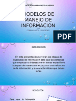 Modelos de Manejo de Informacion