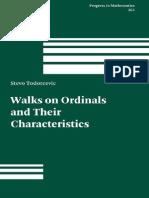 Tordorcevic - Walks on Ordinals