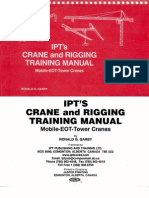 Ipt's crane and rigging training manual: mobile-eot-tower cranes.