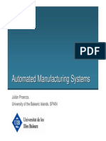 Automated Manufacturing Systems 2