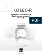 Extracto PROLEC-R Manual
