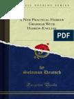 A New Practical Hebrew Grammar With Hebrew-English 1000184044