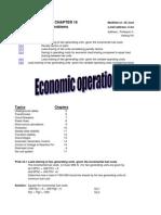 Cap16 Economic Operation