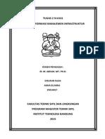 Sistem Informasi  Manajemen Infrastruktur