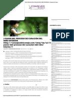 7 PASOS DEL PROCESO DE CURACIÓN DEL NIÑO INTERIOR