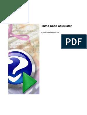 Inmo Code Calculator   Device Driver   Usb