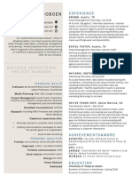 updated resume template
