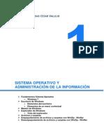 SISTEMA OPERATIVO Y ADMINISTRACIÓN DE LA INFORMACIÓN