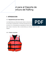 Manual Para El Deporte de Aventura Del Rafting