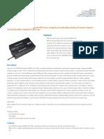 Tripp Lite ECO750UPS Datasheet