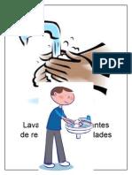 Lavarse Las Manos Antes de Realizar Sus Actividades de Trabajo