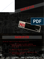 Red Revolution Sacrifice