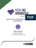 Primaria PersonalSocial III