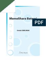 Memelihara Baterai