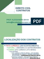 CONTRATOS 1A AULA DA profª Alesandra Bahia-Faculdade Guararapes