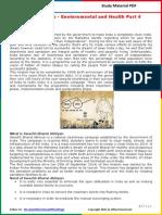 Modi Schemes - Enviornmental and Health Part 4 PDF
