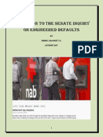 Senate Inquiry into Contrived Loan Impairment,