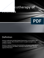 Anemias Pharmacotherapy