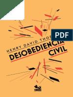 Desobediencia Civil PDF