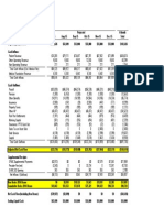 J. Audited Fin. Statements and Projections (º 999 (5)