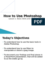 Lesson 1 How to Use Photoshop